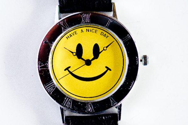 スマイル時計